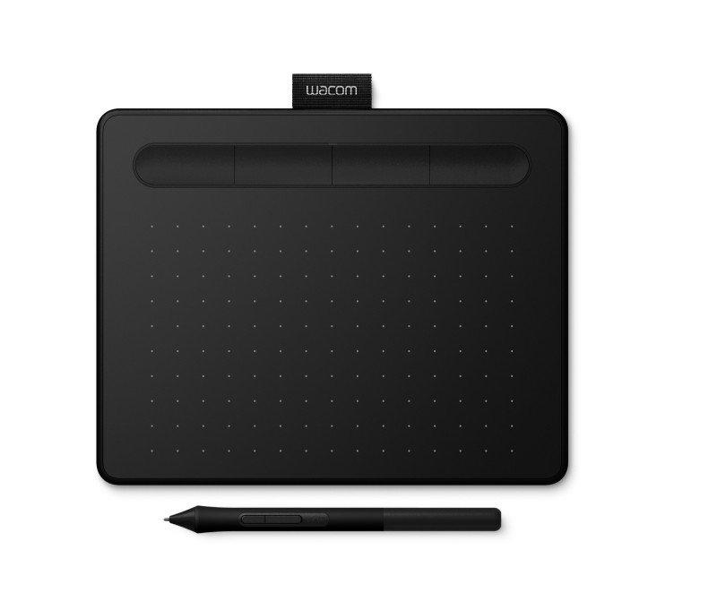Wacom Intuos CTL-4100K-S - Graphics Tablet - 2540 lpi - Cable