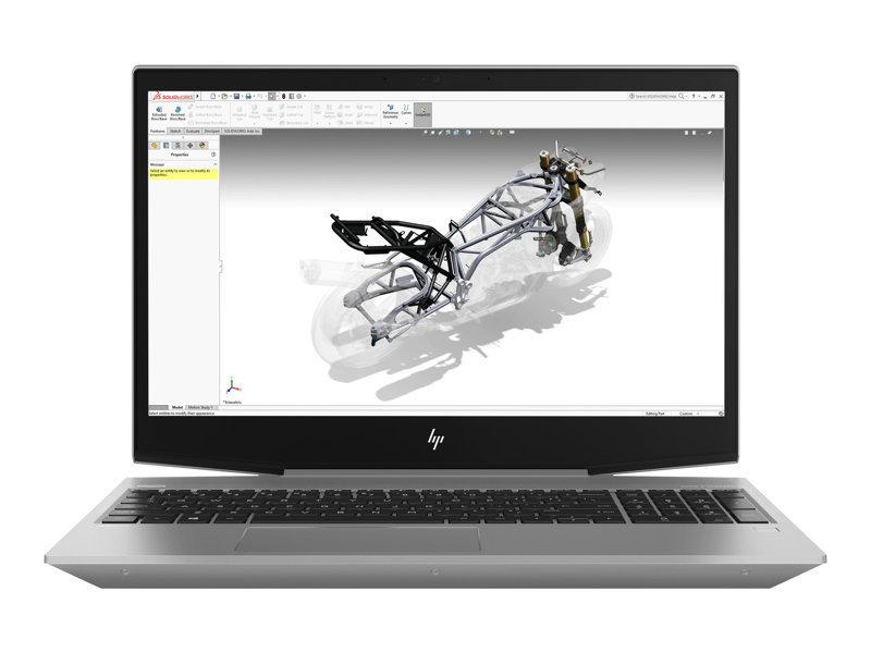 """HP ZBook 15v G5 Core i7 16GB 256GB SSD Quadro P600 15.6"""" Win10 Pro Mobile Workstation"""