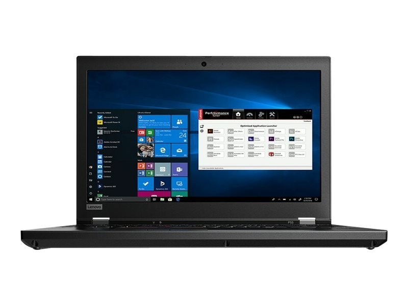 "Lenovo ThinkPad P53 Core i7 16GB 512GB SSD Quadro T2000 15.6"" Win10 Pro Mobile Workstation"