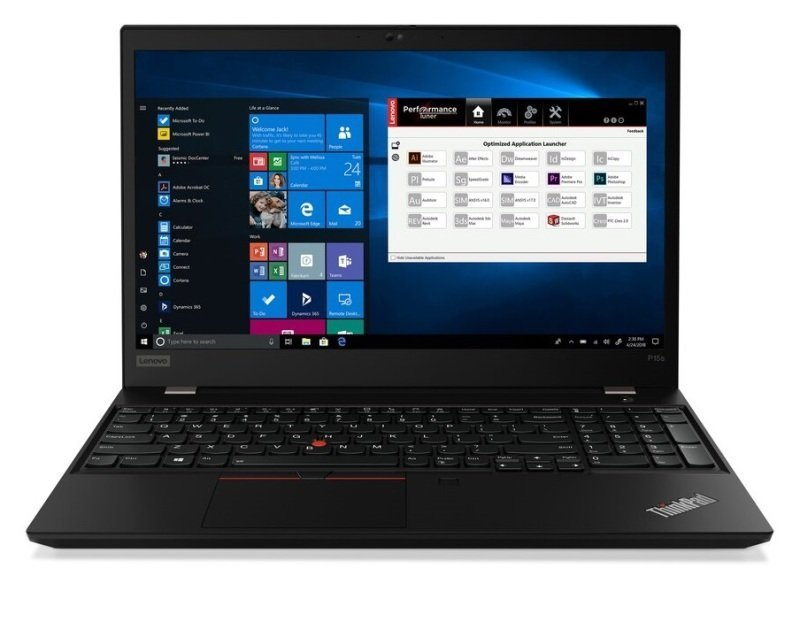 "Lenovo ThinkPad P15s Gen 1 Core i7 8GB 256GB SSD Quadro P520 15.6"" Win10 Pro Mobile Workstation"