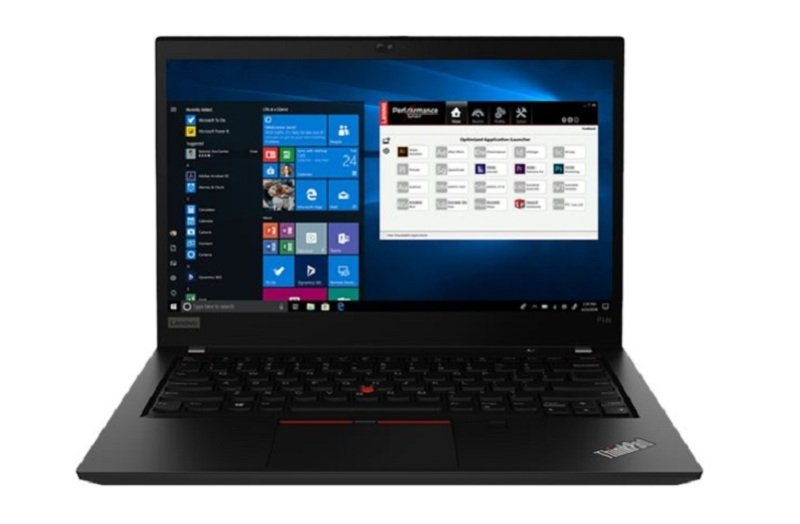 """Lenovo ThinkPad P14s Gen 1 Core i7 8GB 256GB SSD Quadro P520 14"""" Win10 Pro Mobile Workstation"""