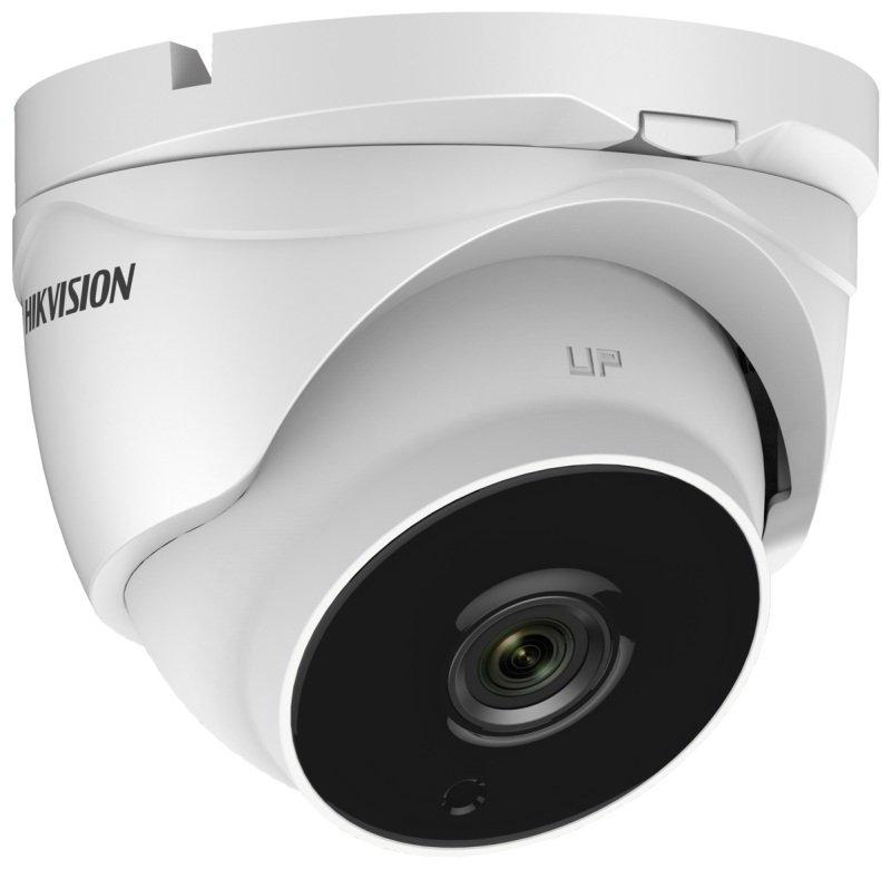 Hikvision Turbo HD Pro Series 2 MP Ultra Low Light PoC Motorized Varifocal Turret Camera - 2.8mm to 12mm