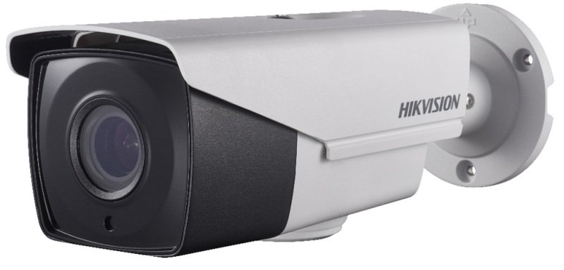 Hikvision Turbo HD Pro Series 2 MP Ultra Low Light PoC Motorized Varifocal Bullet Camera - 2.8mm to 12mm