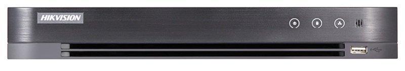 Hikvision Turbo HD Pro Series 4 Channel 5MP 1U H.265 PoC DVR