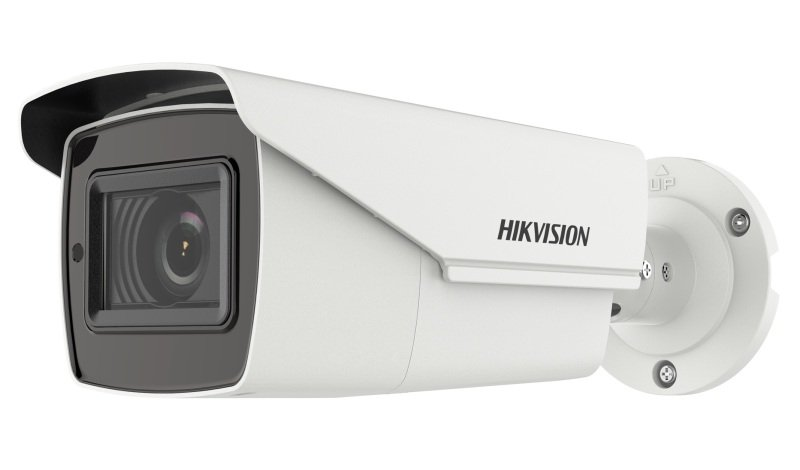 Hikvision Turbo HD Value Series 5 MP PoC Motorized Varifocal Bullet Camera - 2.8mm to 12mm