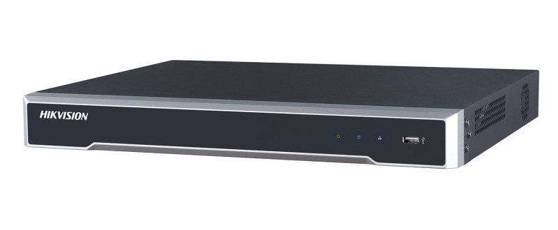 Hikvision Pro Series 8 Channel 1U 8-PoE 4K NVR