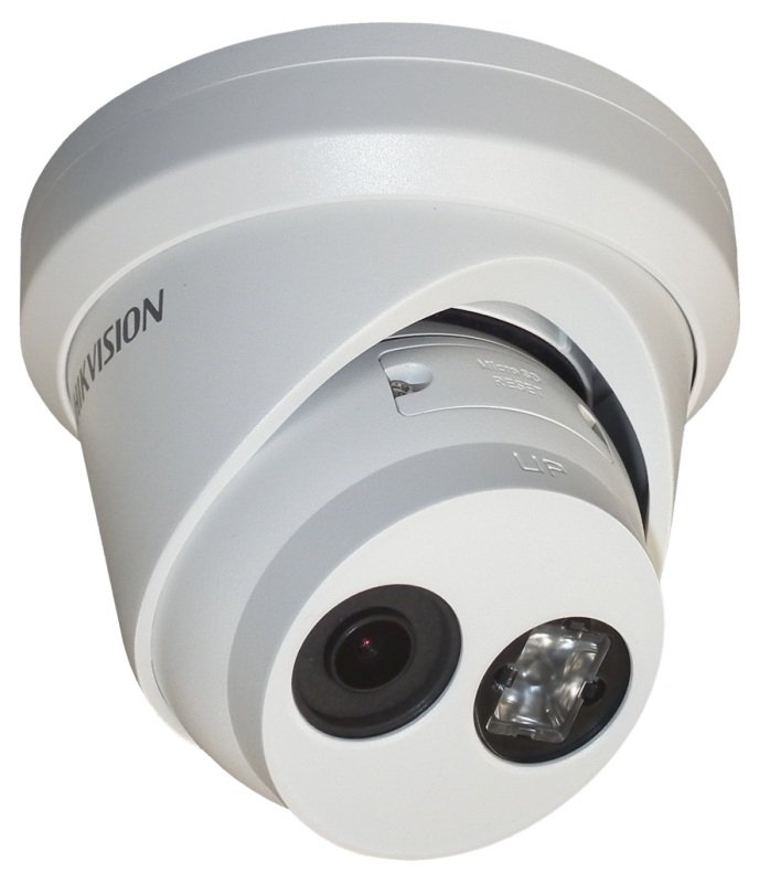 Hikvision Pro Series EasyIP 4MP DarkFighter Fixed Turret Network Camera - 2.8mm