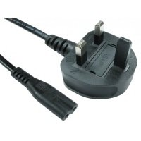 Cables Direct Figure 8 Power Cable 2m