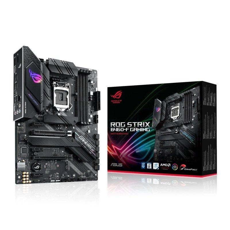 ASUS Intel B460 ROG STRIX B460-F GAMING ATX Motherboard