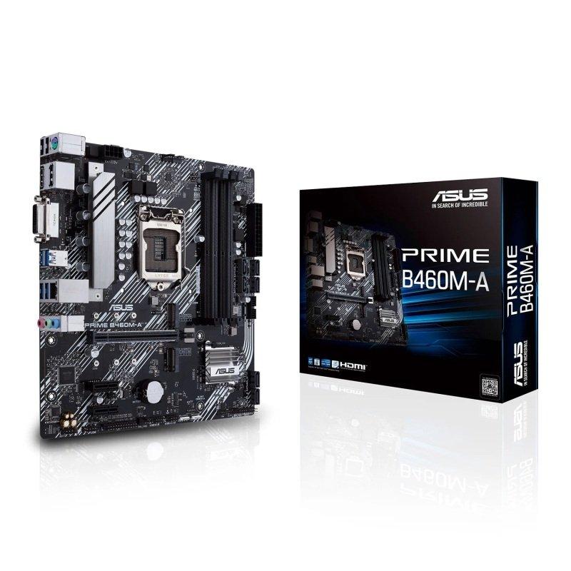 ASUS PRIME Intel B460M-A 10th Gen Micro-ATX Motherboard