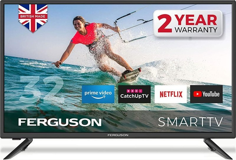 """Ferguson F32RTS 32"""" Smart LED TV with Freeview HD"""