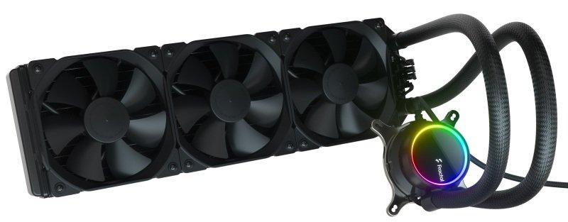 Fractal Design Celsius+ S36 Dynamic X2 PWM Black 360mm Silent Performance Slim Radiator AIO CPU Liquid/Water Cooler