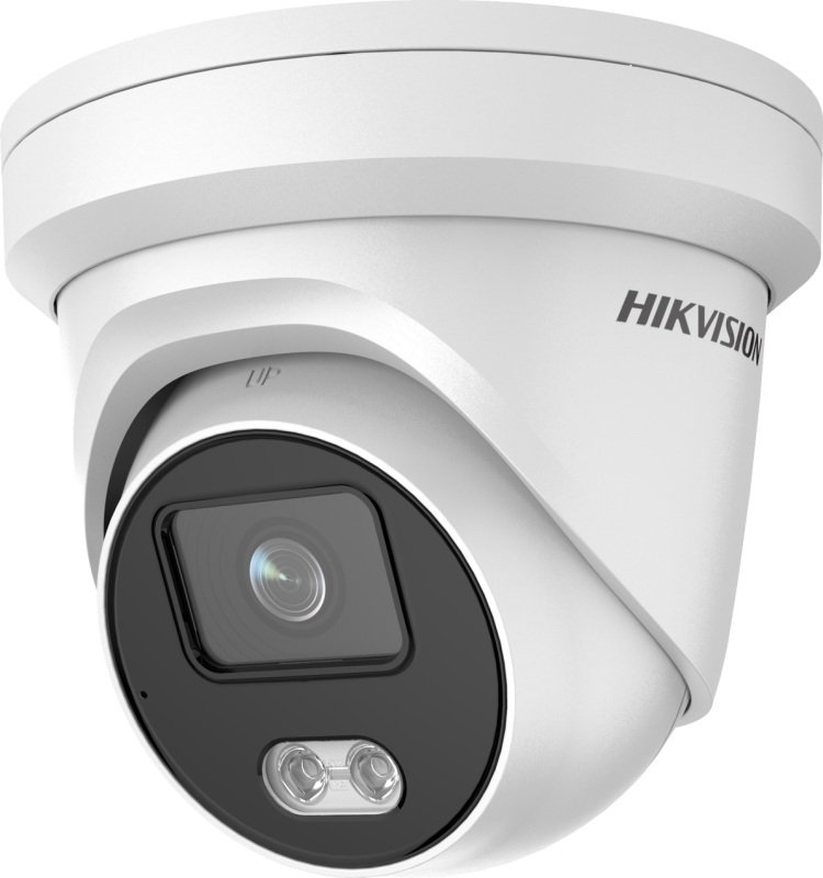 Hikvision ColorVu 4 MP ColorVu Fixed Turret Network Camera - 2.8mm