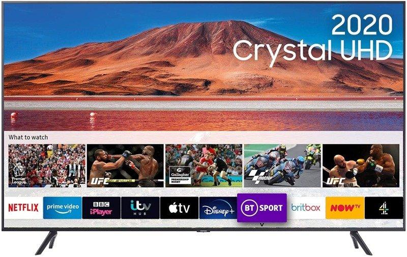 "Samsung UE55TU7100 55"" 4K Ultra HD Smart HDR TV"