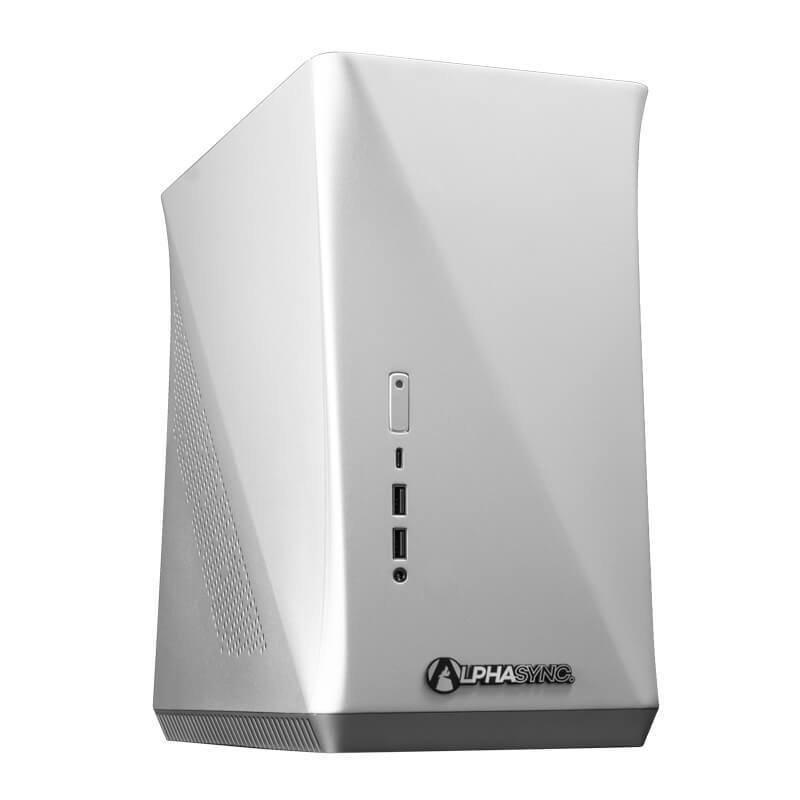 AlphaSync Core i5 10th Gen 16GB RAM 240GB SSD GTX 1660 Super Gaming Desktop PC