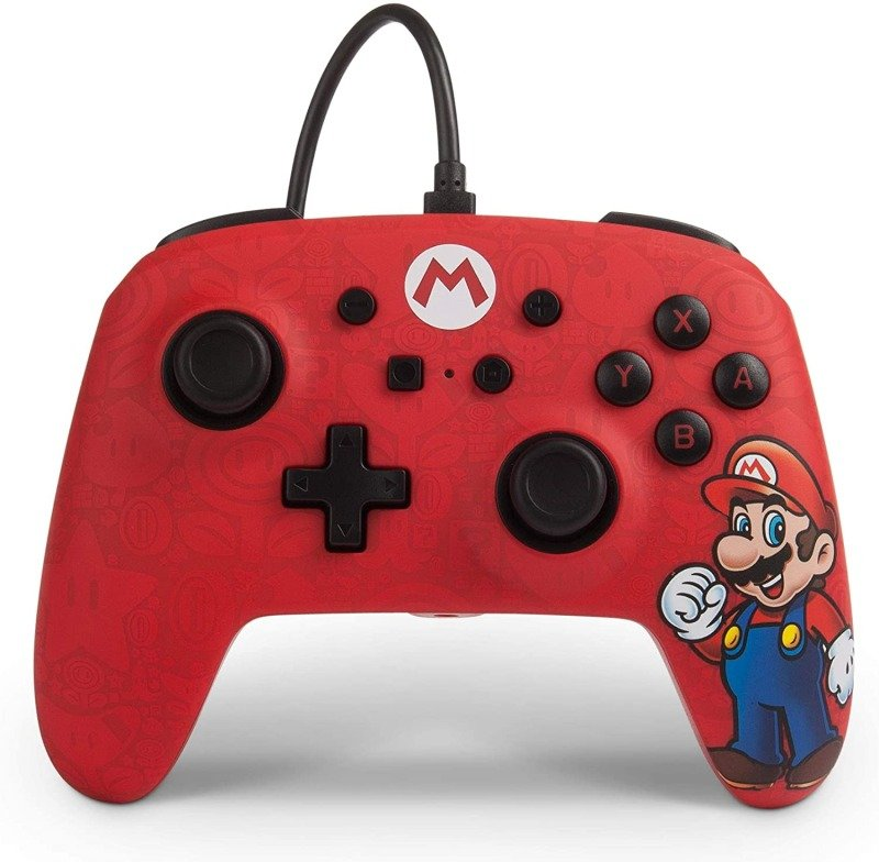 Enhanced Wired Controler Nsw Super Mario