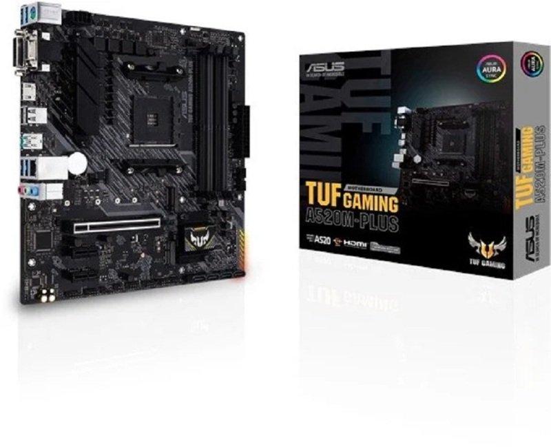 ASUS TUF GAMING A520M-PLUS mATX Motherboard