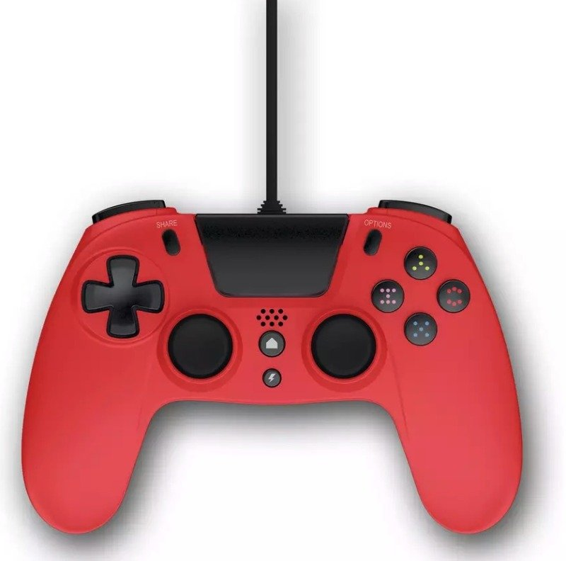 Image of GIOTECK VX-4 Wired Controller Ps4 Red