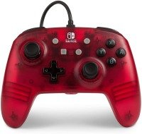 Enhanced Wired Controller For Nintendo Switch - Red Frost