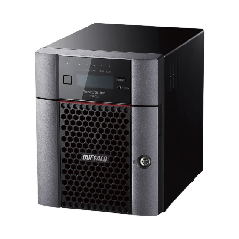 Buffalo TS6400DN0804-EU - 8TB TeraStation 6400DN - 4 Bay Desktop NAS Unit