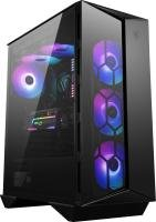 MSI MPG GUNGNIR 110R Black Mid Tower Tempered Glass PC Gaming Case
