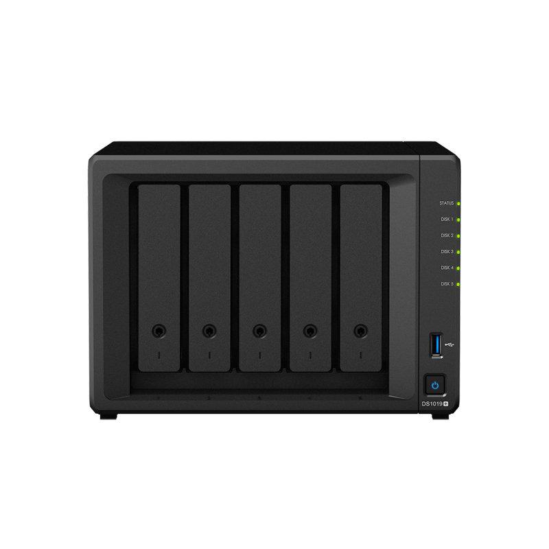 Synology DS1019+ 50TB (5 x 10TB TOSH ENT) - 5 Bay Desktop NAS Unit