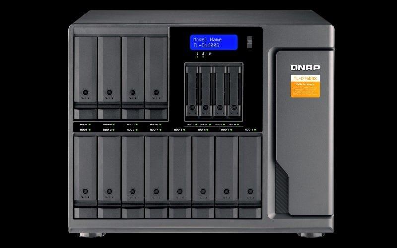 QNAP TL-D1600S/144TB-TOSH - 16 Bay Desktop NAS Unit