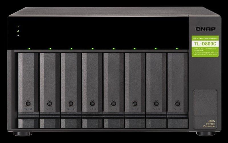 QNAP TL-D800C/64TB-TOSH - 8 Bay Desktop NAS Unit
