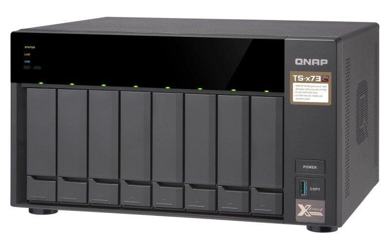 QNAP TS-873-4G/64TB-TOSH - 8 Bay Desktop NAS Unit