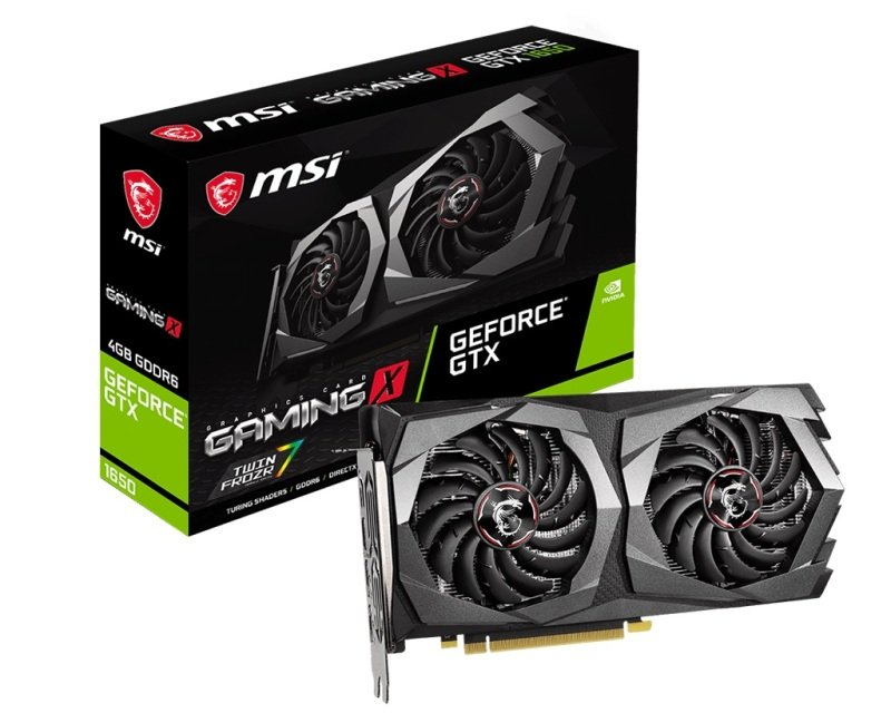 MSI GeForce GTX 1650 GAMING X 4GB GDDR6 Graphics Card