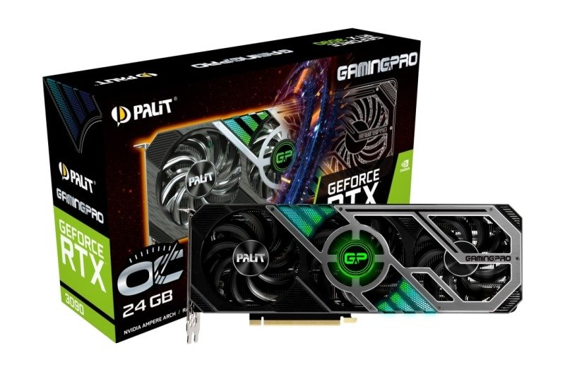 Palit GeForce RTX 3090 GAMING PRO OC 24GB GDDR6X Ampere Graphics Card