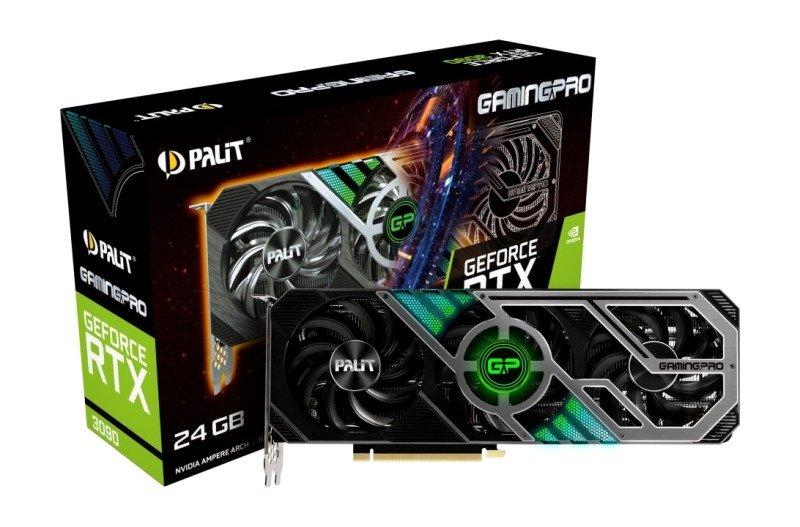 Palit GeForce RTX 3090 GAMING PRO 24GB GDDR6X Ampere Graphics Card
