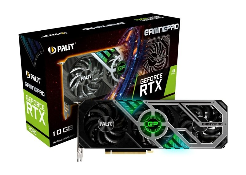 Palit GeForce RTX 3080 GAMING PRO 10GB GDDR6X Ampere Graphics Card