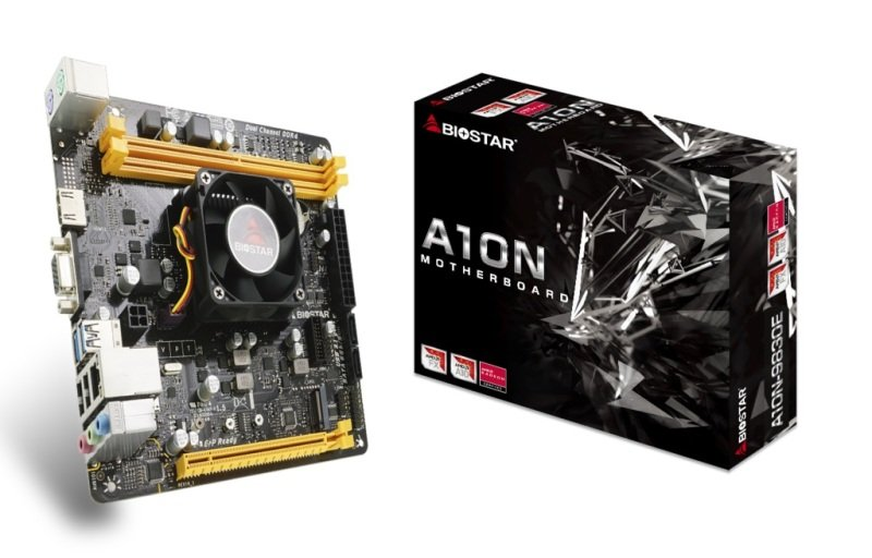 Image of Biostar A10N-9830E AM4 DDR4 mITX Motherboard