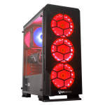 AlphaSync Ryzen 7 16GB RAM 1TB HDD 240GB SSD RX 5700 XT Gaming Desktop PC