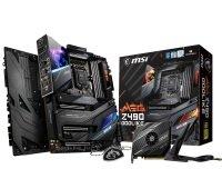 EXDISPLAY MSI MEG Z490 GODLIKE DDR4 E-ATX Motherboard