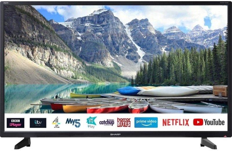 "EXDISPLAY  Sharp 1T-C32BC2KE1FB 32"" Smart HD Ready LED TV"