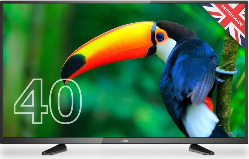 "Image of Cello C4020DVBT2 40"" Full HD TV with Freeview T2 HD and Digital Freeview Channels"