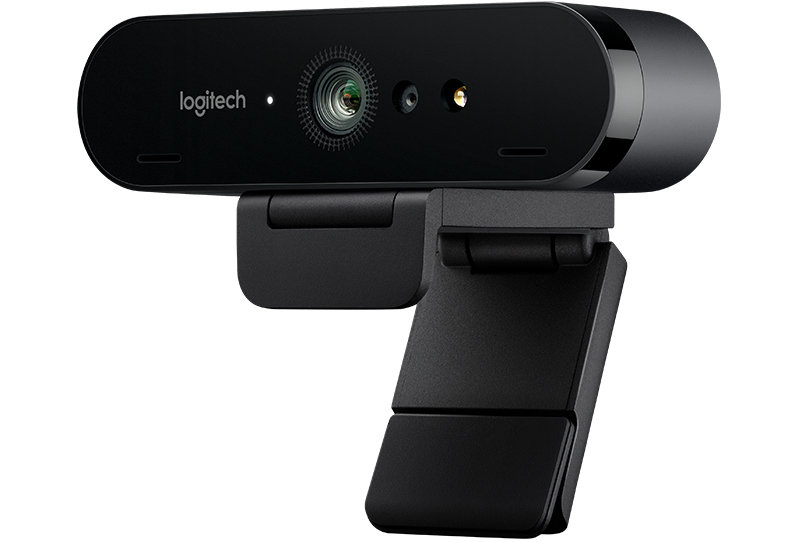 Logitech BRIO HD Pro - 4K webcam with HDR and Windows Hello support