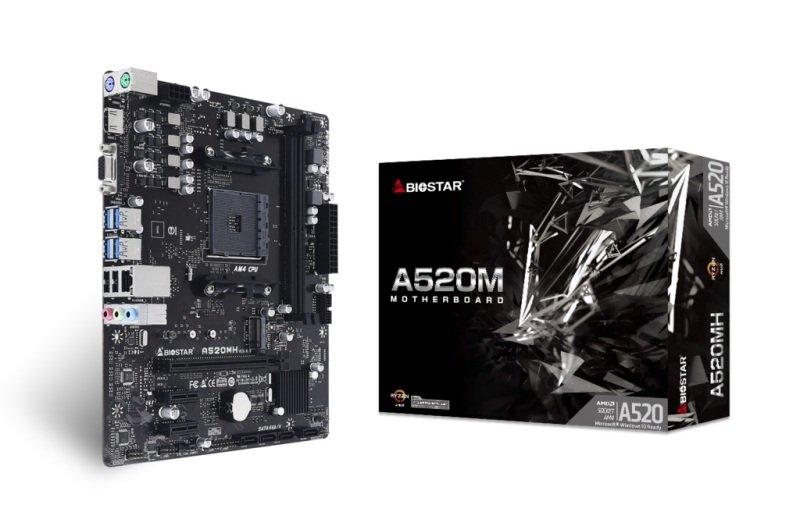 Biostar A520MH DDR4 mATX Motherboard