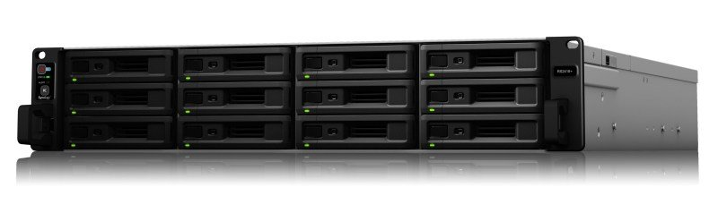 Synology RS2418+ 168TB (12 x 14TB TOSH-ENT) - 12 Bay Rack NAS Unit