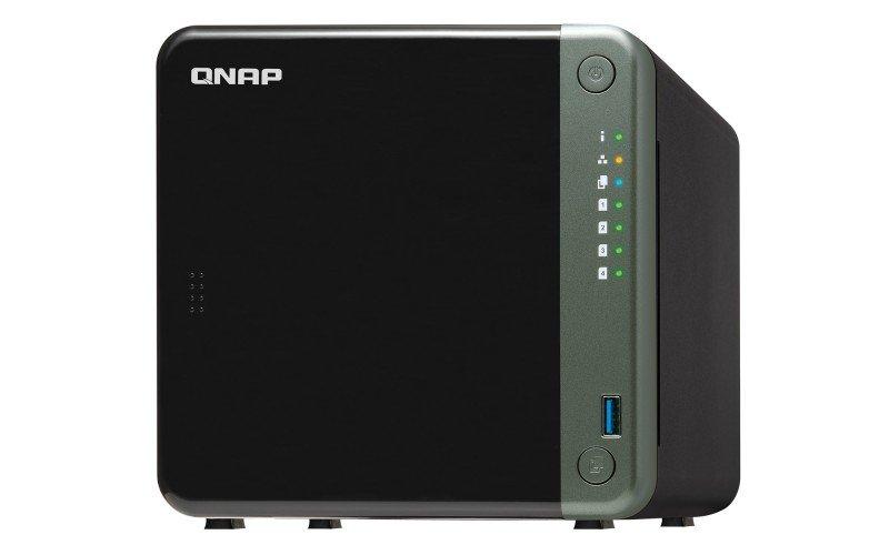 QNAP TS-453D-4G 32TB (4 x 8TB N300) - 4 Bay Desktop NAS w/4GB RAM