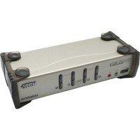 Aten CS1734B-AT-E - 4 Port - USB 2.0 - KVM Switch