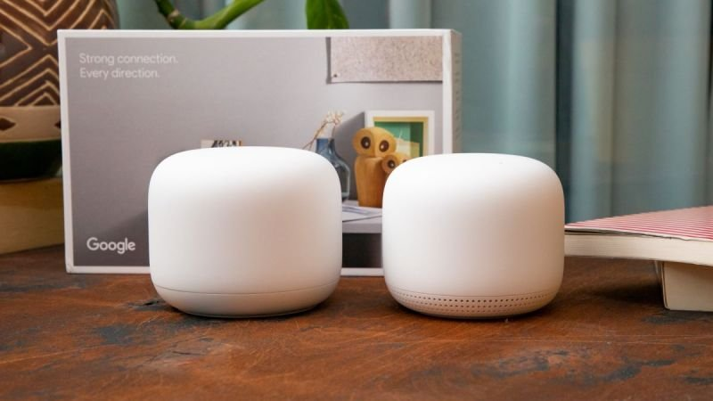 EXDISPLAY Google Nest Wifi Router & Point
