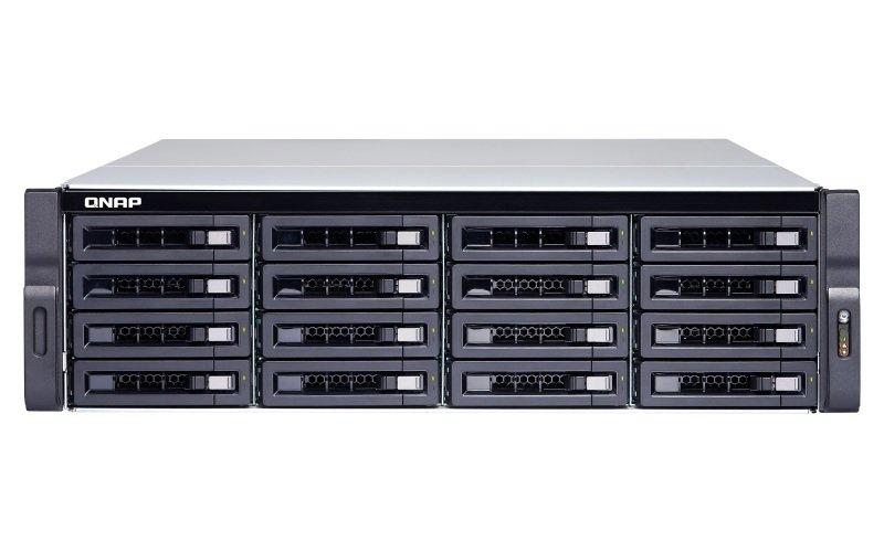 QNAP TS-1683XU-RP-E2124-16G 96TB (16 x 6TB TOSH ENT) - 16 Bay Rack