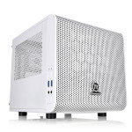 EXDISPLAY Thermaltake Core V1 Snow Mini-ITX Cube Case With Side Window