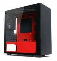 EXDISPLAY Tecware Nexus M - Mini Tower Black / Red