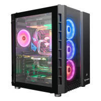 AlphaSync Water Cooled Core i9 10th Gen RTX 2080 Ti 64GB RAM 4TB HDD 1TB SSD Gaming Desktop PC