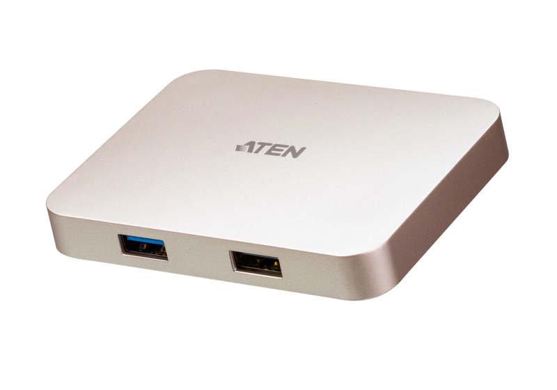 Aten UH3235-AT - USB-C 4K Ultra Mini Dock