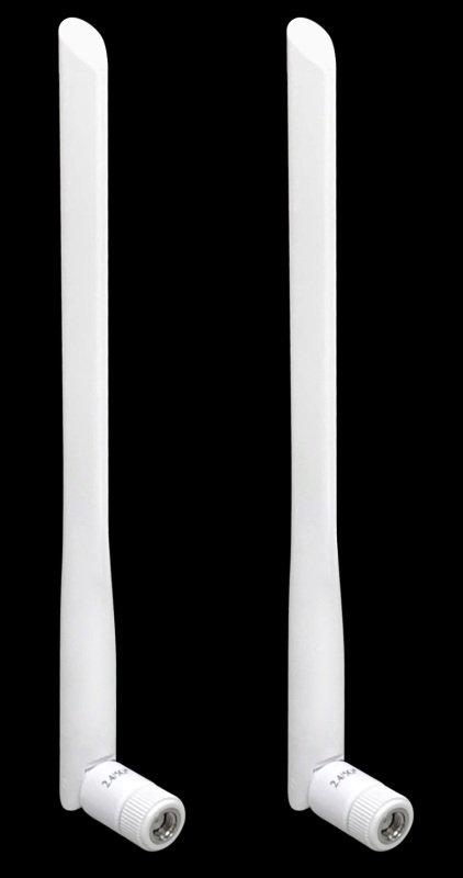 Image of Draytek ANT-1205W - 5dBi High-Gain Dual-Band Aerials - White